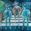 Blue Giraffes 2